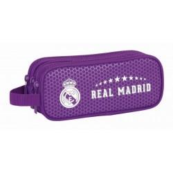 Portatodo  tres compartimentos Real Madrid