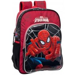 Mochila Doble Compartimento y Adaptable de Spiderman