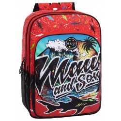 Mochila Doble Compartimento Adaptable Maui Beach