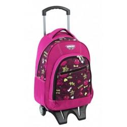 Trolley Juvenil Seven Princess Pink carro