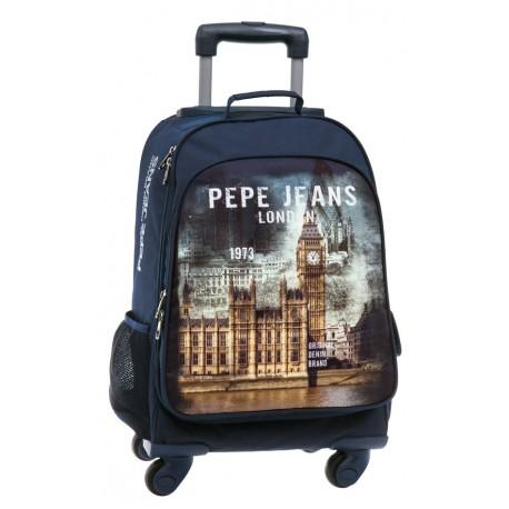 Mochila 4 ruedas Pepe Jeans  colección London Original 6092851