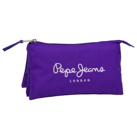 Portatodo triple Pepe Jeans colección Logo Basic 6151154