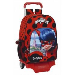 Mochila Infantil Grande con Carro Lady Bug