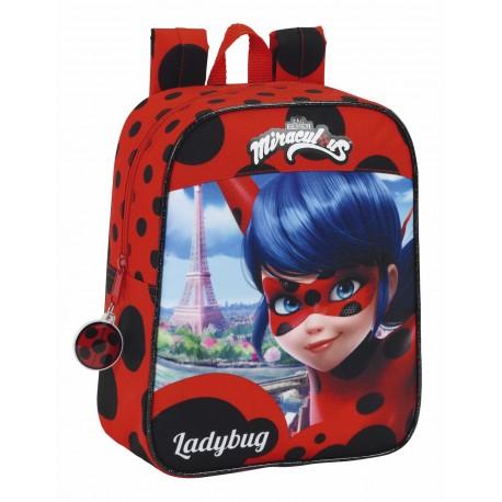 Mochila Infantil de Guardería Ladybug