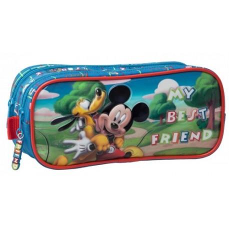 Portatodo doble Mickey 16242