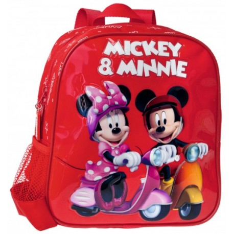 Mochila guardería Mickey Minnie 15321