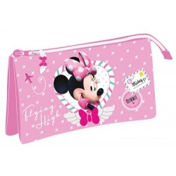 Estuche triple de Minnie