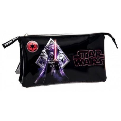 Estuche triple compartimento de Star Wars 2194351