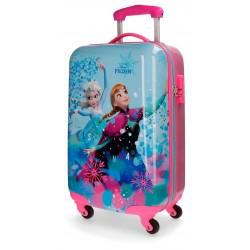 Maleta de Cabina 4 Ruedas Frozen Star en ABS