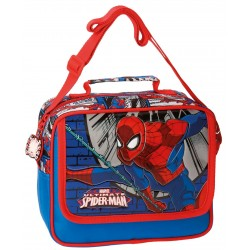 Neceser Spiderman Comic Adaptable a Trolley con Asa y Bandolera