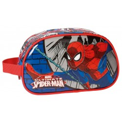 Neceser Spiderman Comic Adaptable a Trolley con Asa Lateral