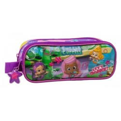 Estuche dos compartimentos de   Bubble Guppies