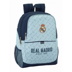 Mochila Grande Adaptable a Trolley con Redes Laterales del Real Madrid Corporativa