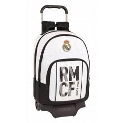 Mochila Doble Compartimento con Carro Real Madrid Primera División