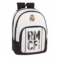 Mochila Doble Compartimento y Bolso Frontal Adaptable a Trolley del Real Madrid Primera División