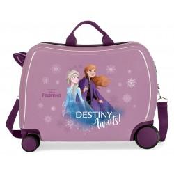 Maleta Infantil Correpasillos de 50cm Ruedas delanteras Multidireccionales Frozen II Destinity Awaits