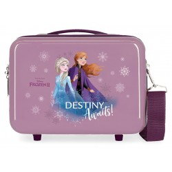 Neceser rígido en ABS con Bandolera y Adaptable a Trolley  Frozen II Destinity Awaits