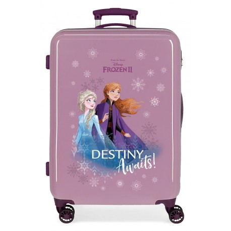 Maleta Mediana Rígida en ABS Frozen II Destinity Awaits