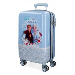 Maleta de Cabina Rígida en ABS  Spirits Of Nature Frozen 2 Azul