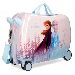 Maleta Infantil Correpasillos 50cm de 4 Ruedas True To Myself Frozen
