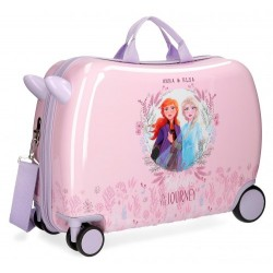 Maleta Infantil Correpasillos 50cm Anna y Elsa Frozen II