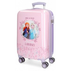 Maleta de Cabina Rígida en ABS Anna y Elsa Frozen II