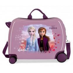 Maleta Infantil Correpasillos de 4 Ruedas Frozen II In My Element