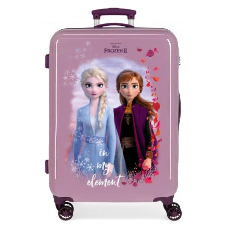 Maleta Mediana Rígida en ABS Frozen II In My Element