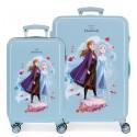 Juego maletas Cabina y Mediana en ABS Frozen II My Destinys Calling