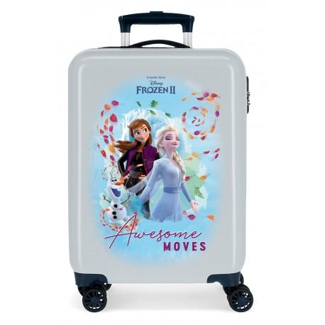 Maleta de Cabina en ABS Awesome Moves frozen 2