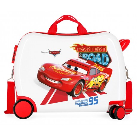 Maleta Infantil Correpasillos de 4 Ruedas y 50cm  Good Mood Cars