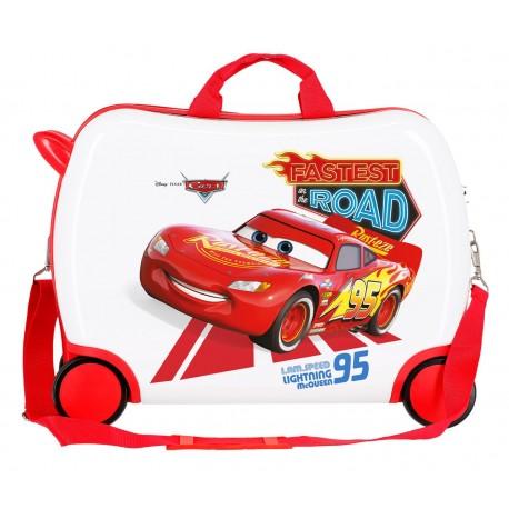 Maleta Infantil Correpasillos de 50cm en ABS Good Mood Cars