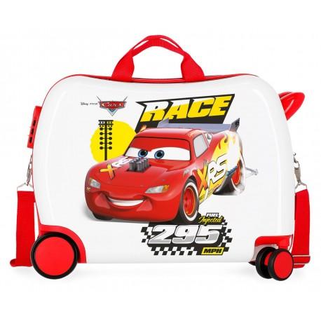 Maleta Infantil 50cm Correpasillos ABS 4 Ruedas Joy Cars