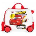 Maleta Infantil 41Cm Correpasillos ABS de 4 Ruedas Joy Cars