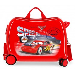 Maleta Infantil 50cm Correpasillos ABS Cars Speed Trials