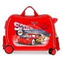 Maleta Infantil 50cm Correpasillos ABS Cars Speed Trials