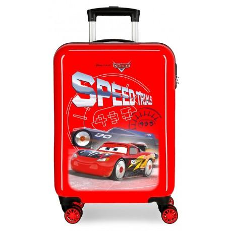 Maleta Cabina en ABS de 4 Ruedas Cars Speed Trials