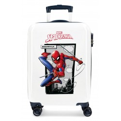 Maleta Infantil Cabina Spiderman Action 4 Ruedas