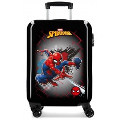 Maleta de Cabina en ABS Spiderman Red