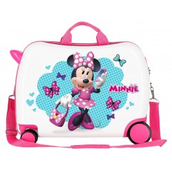 Maleta Infantil Correpasillos de 50cm Good Mood Minnie