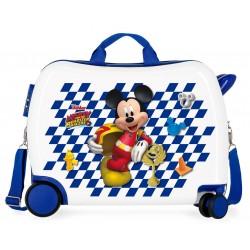 Maleta Infantil de 50cm Ruedas delanteras Multidireccionales Correpasillos  Good Mood Mickey
