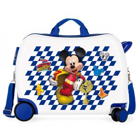 Maleta Infantil de 50cm Correpasillos  Good Mood Mickey
