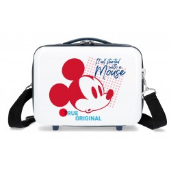 Neceser Adaptable a Trolley con Bandolera Mickey True Original