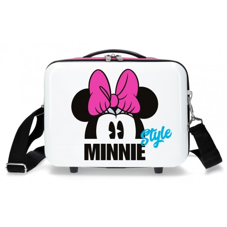 Neceser Adaptable a Trolley con Bandolera Minnie Style