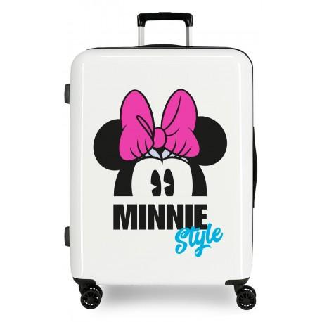 Maleta Mediana Rígida en ABS Minnie Style