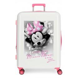 Maleta Mediana Rígida en ABS Minnie Style with love