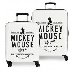 Juego Maletas Cabina y Mediana Mickey Style hero