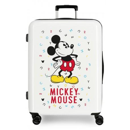 Maleta Mediana Rígida en ABS Mickey Style