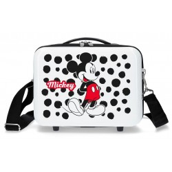 Neceser Adaptable a Trolley con Bandolera Mickey Enjoy The Day Dots
