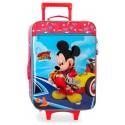 Maleta Infantil de 2 Ruedas Blanda Lets Roll Mickey